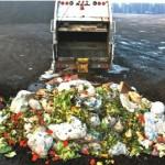 Garbage truck with organics